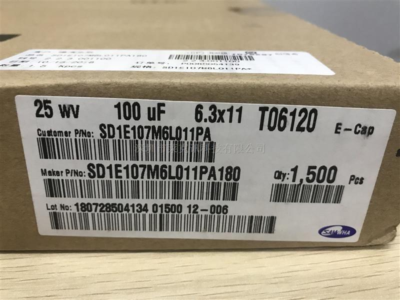 SD1E107M6L011PA180