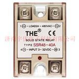 THE无锡天豪SSR48-40A 安装式单相交流固态继电器 原装正品 40A