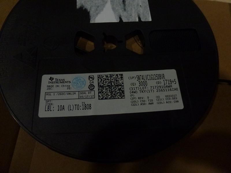 SN74LVC1G125DBVR    安防  存储   IC   电子产品  360°办公摄像头