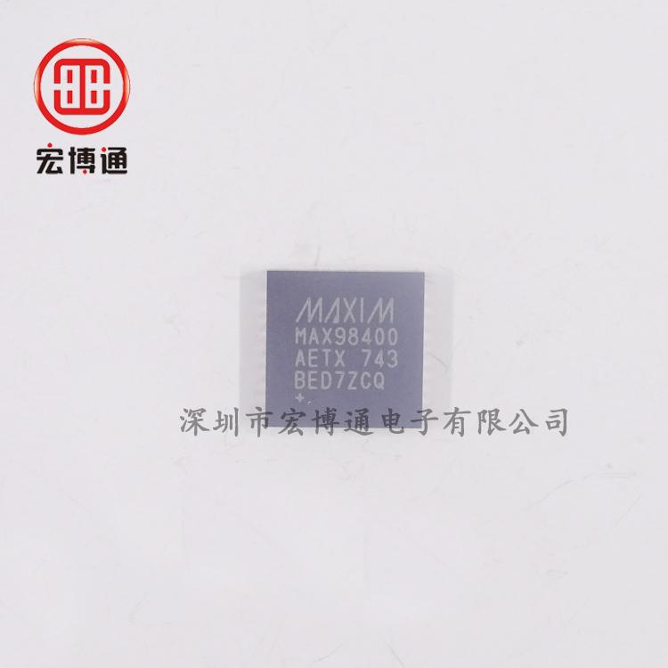 MAX98400AETX+
