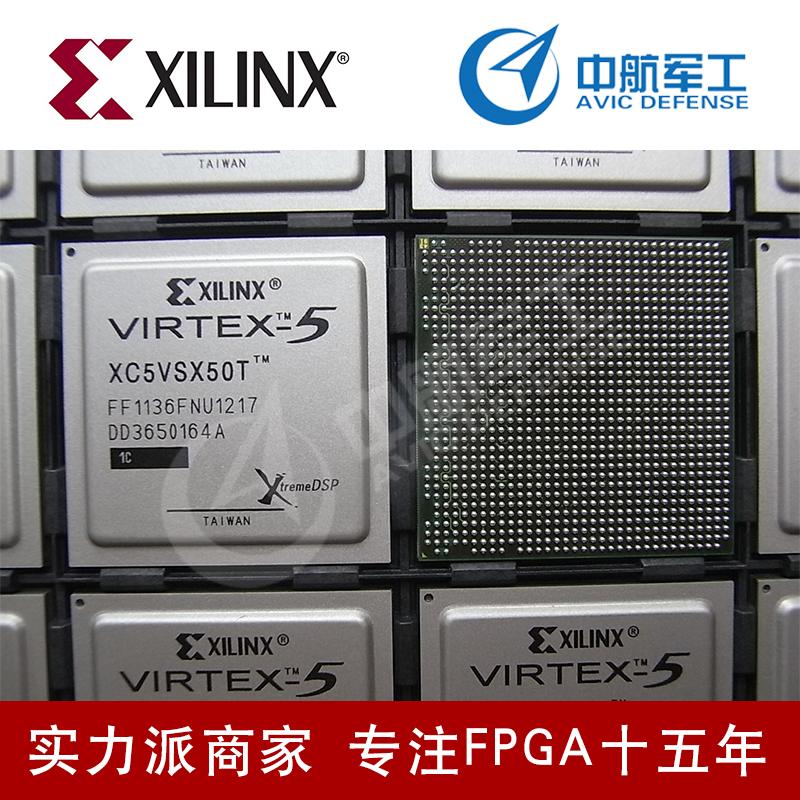XC5VSX50T-1FF1136C