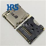 TF卡座DM3AT-SF-PEJM5广濑USB座子