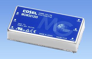 MGFW80系列80W双路输出电源 DC9-36V/18-75V输入MGFW802412 MGFW802415