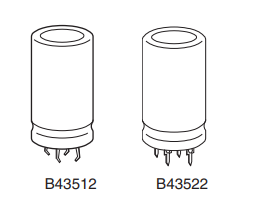 供应高压铝电解电容器B43522A6687M000