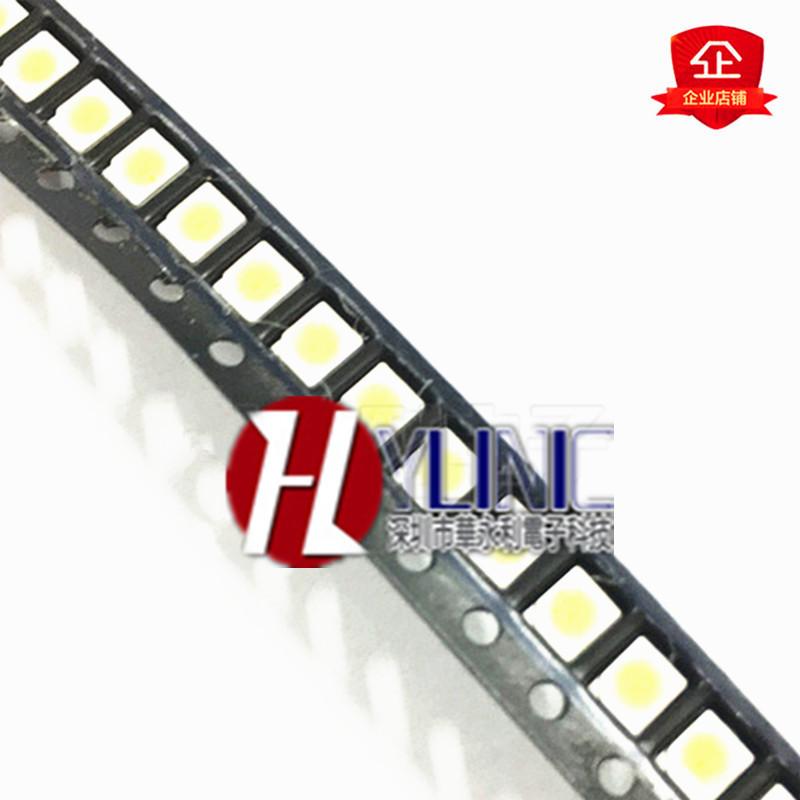 贴片高亮LED发光二极管 1210 黄灯3528 黄色