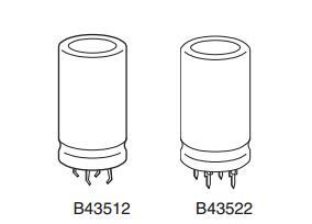 铝电解电容器B43522B6397M000原装现货