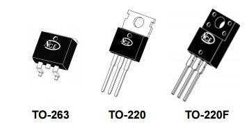 NCE65T360结型场效应管参数