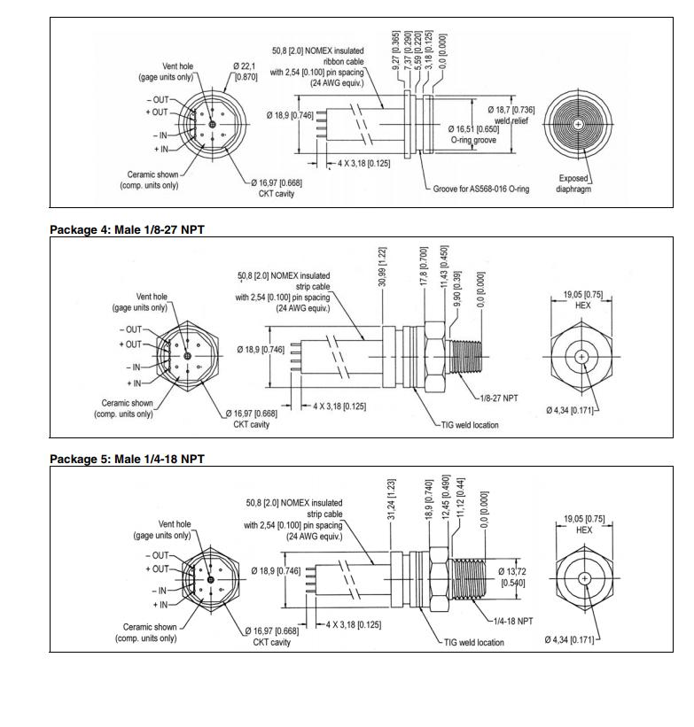 19C015PV5K  工业压力传感器