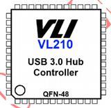 台湾进口原装超高速USB集线器控制器VL210