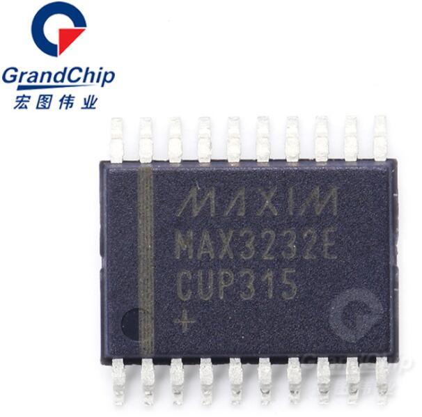 MAX3232ECUP+T