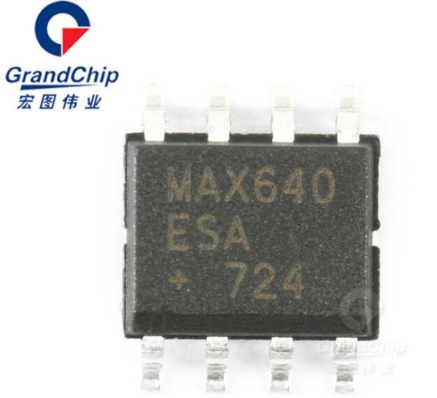 MAX640ESA+T