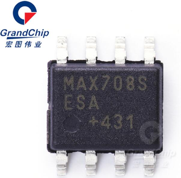 MAX708ESA+T