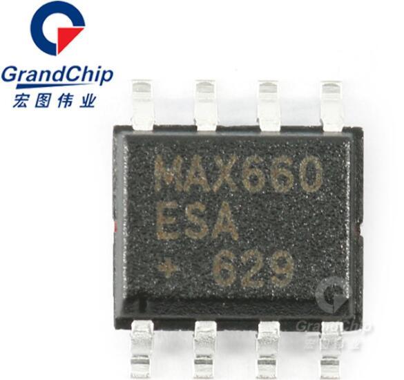 MAX660ESA+T