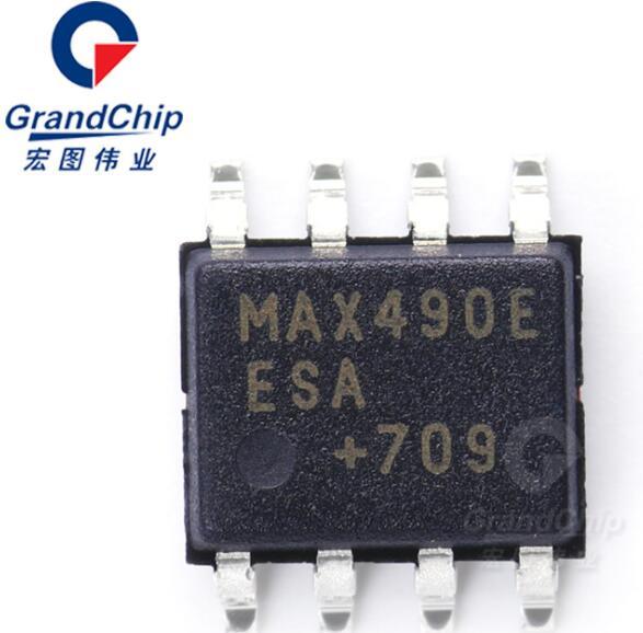 MAX490EESA+T