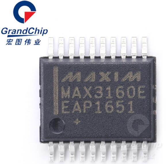 MAX3160EEAP+T