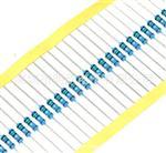金属膜电阻1/2W 1%五色环电阻器0.5 1K 4.7K 10K 120欧5.1欧 1M