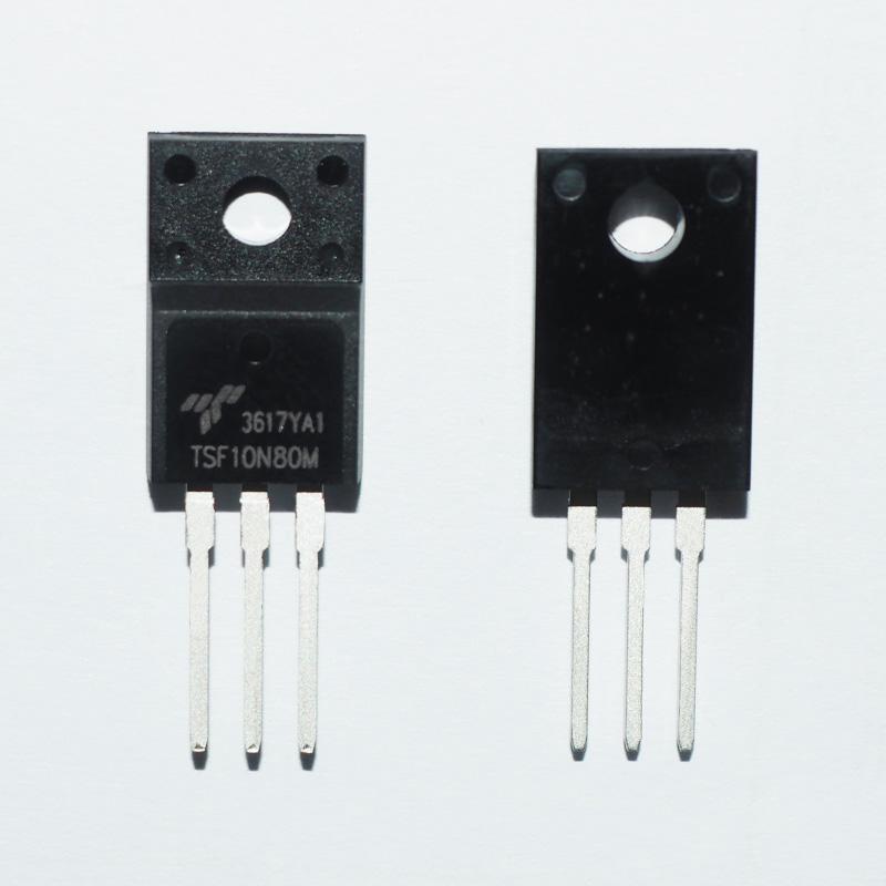 信安TSF10N80M 10A 800V N沟道MOSFET