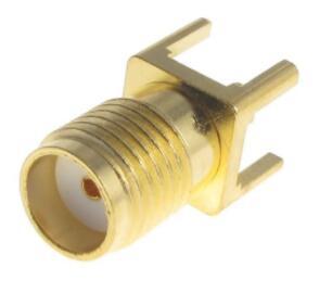 电连射频连接器50欧姆 泰科