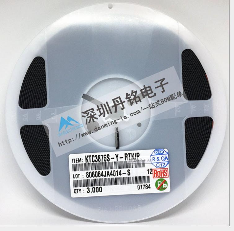 KEC原装贴片三极管KTC3875S-Y-RTK/P