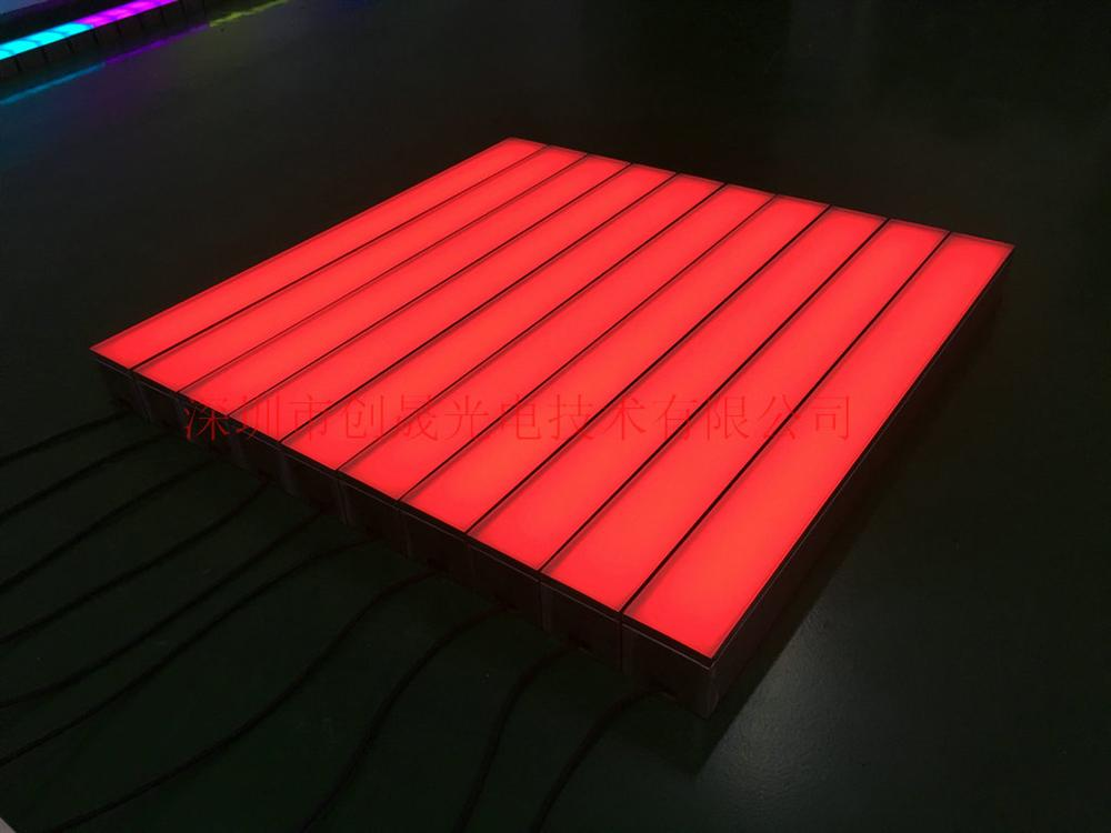 LED条形发光砖、深圳LED广场长条地砖灯定制