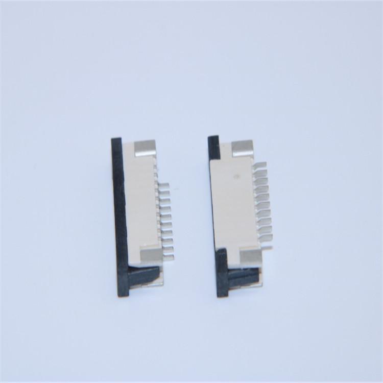 供��1.0mm下接FPC�B接器 2.5H 4 10 12 15 30Pin 抽�� 拉拔 �P式 �Э�