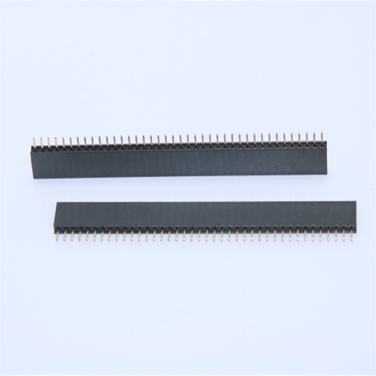 1.0mm排针排母 双排直 弯针 常规贴片 插件式
