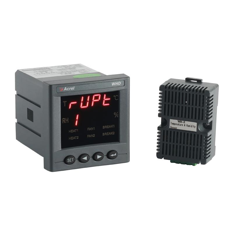 供应安科瑞WHD72-11/M可编程温湿度控制器 变送输出Acrel 一路温度