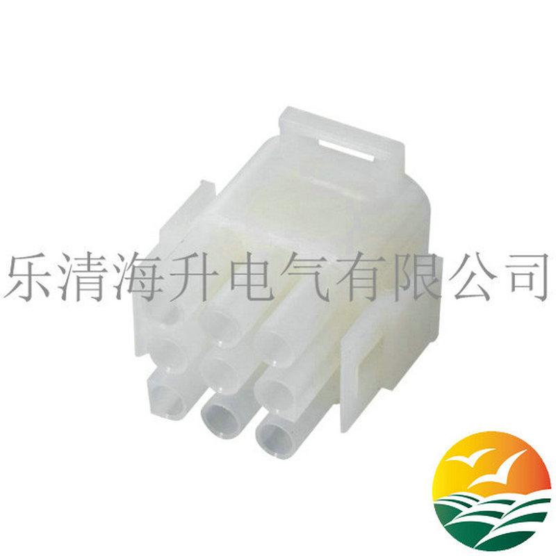 9孔白色�B接器5084-1095