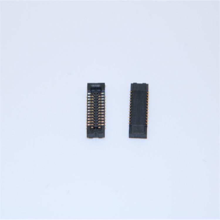 替代BM10NB(0.8)-10DS-0.4母座 10 24 30 40 50 60PIN贴片广濑板对板连接器