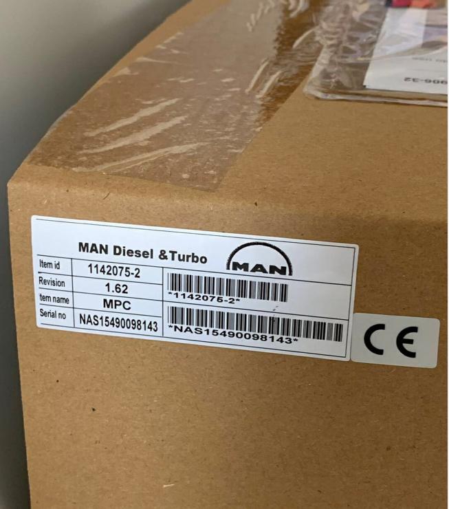 德国Man多功能控制面板MPC  1142075-2 (R-1142075-2) 汽缸控制单元CCU