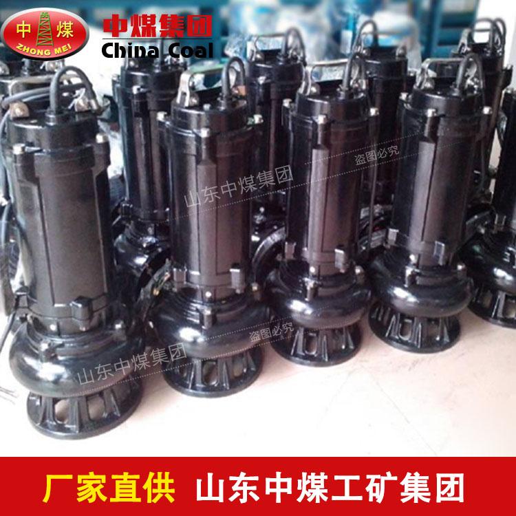 自动搅匀潜水排污泵种类多,JYWQ型自动搅匀潜水排污泵