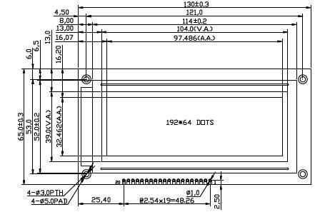RG19264A1兼容液晶模块