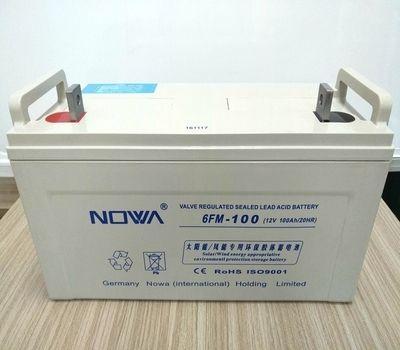 代理NOWA诺华6FM-150蓄电池12V150AH图片