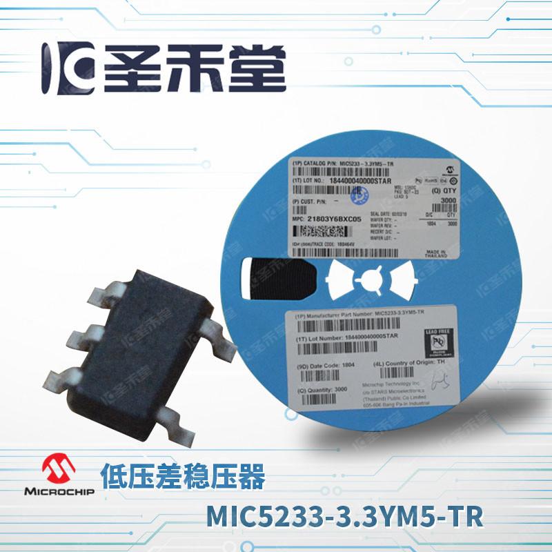 MIC5233-3.3YM5-TR